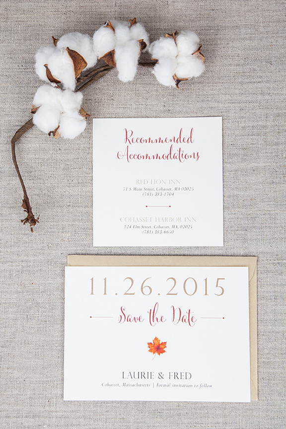 Fall Wedding Inviations